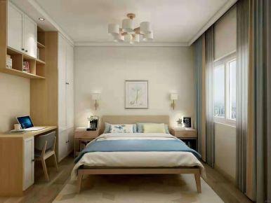 济南欧式风格三居室装修效果图