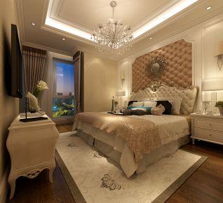 昆明欧式风格四居室装修效果图