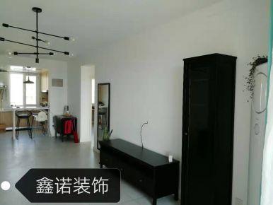 天津美式风格小两居室装修效果图