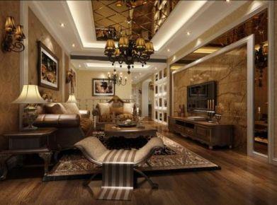福州欧式风格四居室装修效果图