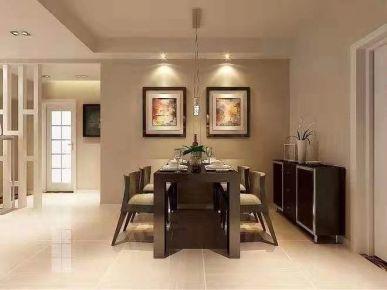 济南欧式风格四居室装修效果图