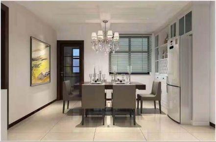 烟台160平美式风格四居室装修效果图