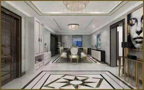 烟台200平欧式风格四居室装修效果图