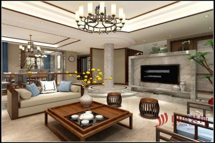 绍兴中式风格别墅装修效果图