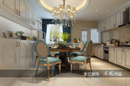贵阳保利温泉欧式风格三居室装修效果图