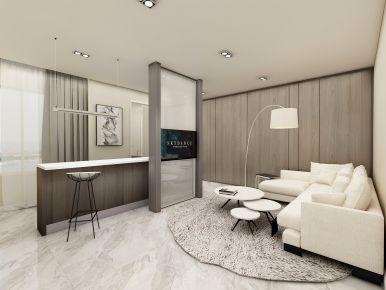 苏州美式风格小两居室装修效果图