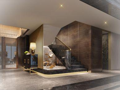 成都现代风格三居室装修效果图