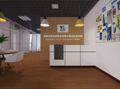 济南现代风格办公室装修效果图