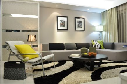 西安简约风格小两居室装修效果图