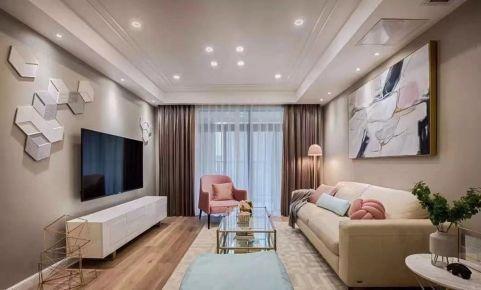 漳州市建发御园美式风格三居室装修效果图