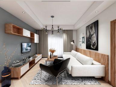 中山市剑桥郡创意混搭三居室装修案例 创意混搭风格装修效果图