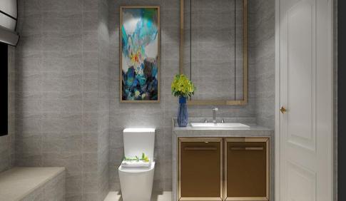 西安新中式风格三居室装修效果图