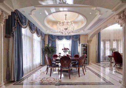 南京欧式风格四居室装修效果图