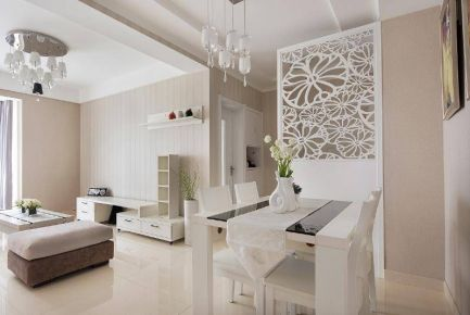 西安现代简约风格两居室装修案列