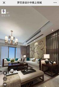 南京中式风格四居室装修效果图