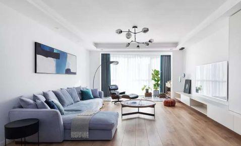 泉州世贸御龙湾简约风格三居室装修效果图