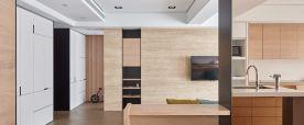 泉州龙湖嘉天下日式风格三居室装修效果图