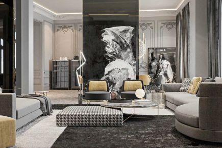 义乌创意混搭风格三居室装修效果图