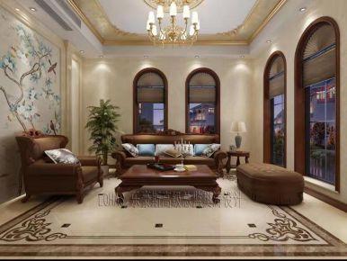 石家庄欧式风格豪华别墅装修设计,尽显贵族气质