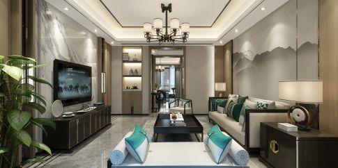 绍兴新中式风小户型二居室装修,简单又有禅意