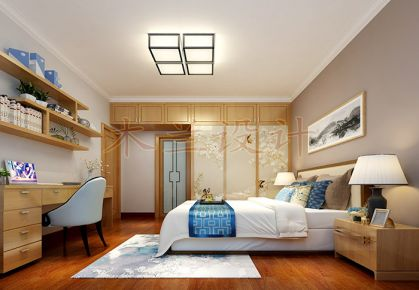 东莞嘉宏锦园现代风格二居室装饰设计效果图