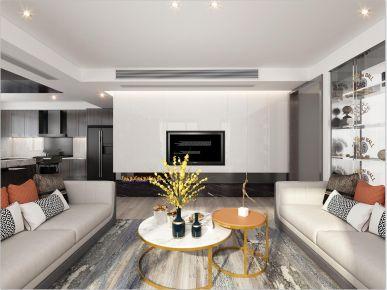 绍兴信达银郡现代简约风格三居室装修案例