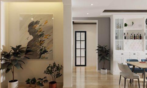 遵义欧式风格四居室装修效果图