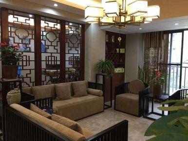 贵阳中式风格复式楼装修效果图