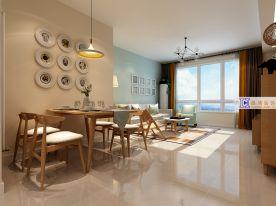 济南现代风格小两居室装修效果图