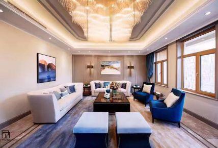 常州中式风格四居室装修效果图