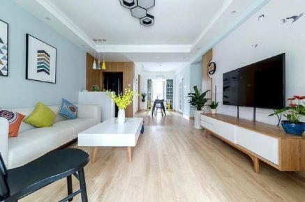 郑州100平米现代简约风格三居室装修案例