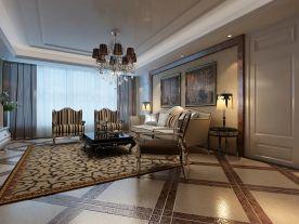 济南四居室现代风格装修案例