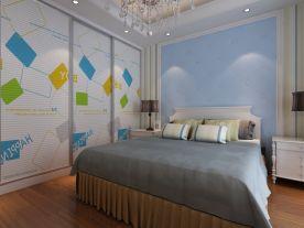 济南四居室创意混搭风格装修案例