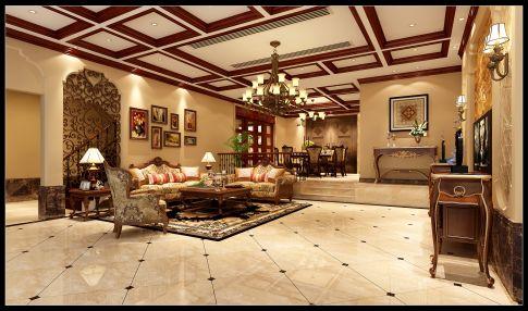 六安美式风格别墅装修效果图