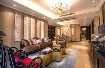 咸阳中式风格三居室装修效果图 混出独特的奢华!
