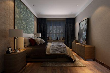 天津现代风格三居室装修效果图