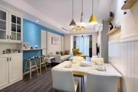 咸阳现代风格两居室装修效果图