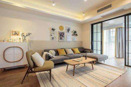 石家庄现代风格小两居室装修效果图