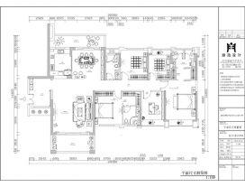 湛江现代风格四居室装修效果图
