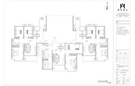 湛江简欧风格三居室装修效果图