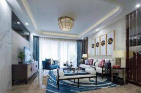 咸阳113平新中式三室两厅装修 东方美韵、经典不朽!