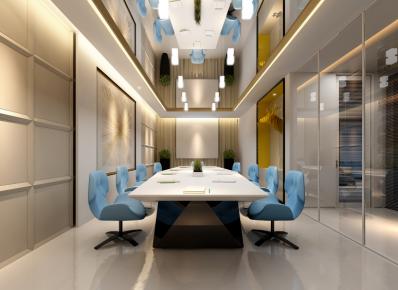 温州简约风格办公室装修效果图