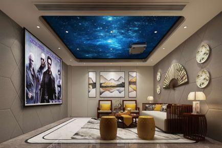 绵阳欧式风格三居室装修效果图