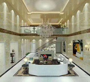 郑州现代风格三居室装修效果图