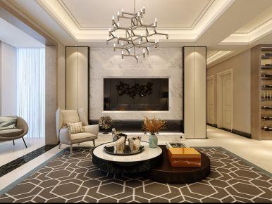 南京混搭风格四居室装修效果图