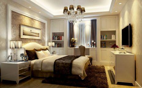 南京欧式风格三居室装修效果图