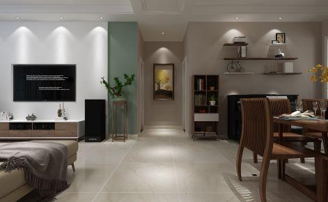 南京日式风格四居室装修效果图