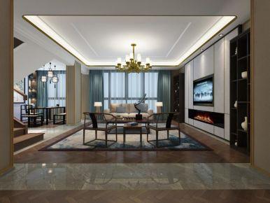 温州新中式风格三居室装修效果图