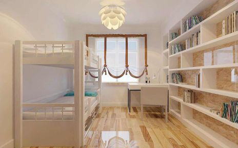 宁波现代风格两居室装修效果图