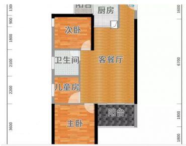 广州现代风格两居室装修案例